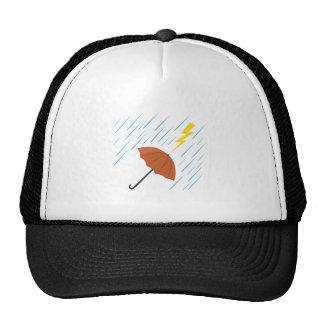 Lightning Umbrella Trucker Hats