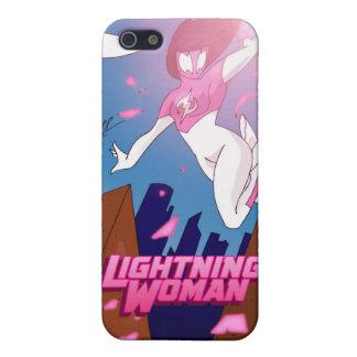 Lightning Woman  iPhone 5 Case