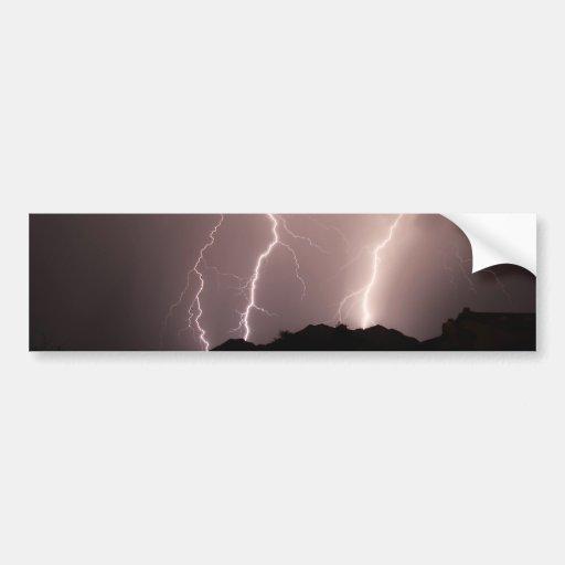 lightnings triple strike. bumper sticker