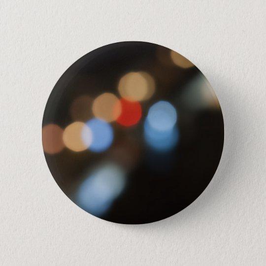 Lights 6 Cm Round Badge