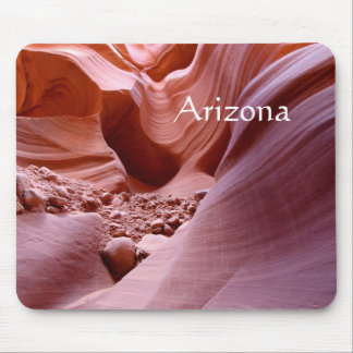 Lights and rocks in the canyon, Arizona Mouse Mat
