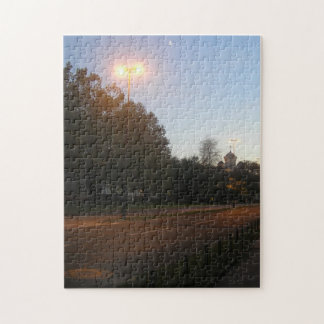 Lights and the moon jigsaw puzzle
