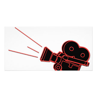 Lights Camera Action Picture Card