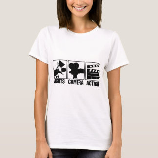 Lights, Camera, Action T-Shirt