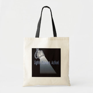 """Lights, Camera, Action!"" Tote Bag"