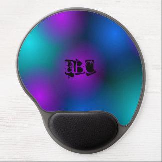 lights monogram Gel Mousepad