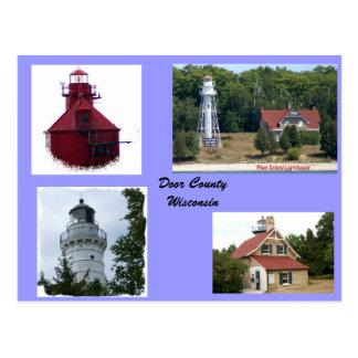 Lights of Door County Post Card