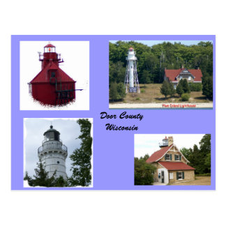 Lights of Door County Postcard