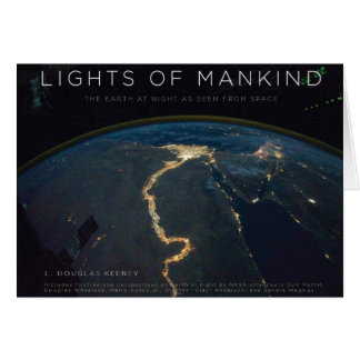 Lights of Mankind Greeting Card