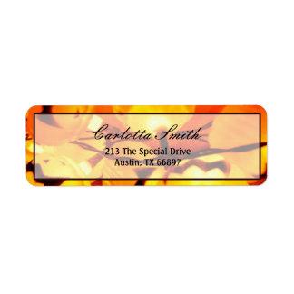 Lights of the Jack O Lantern Return Address Label