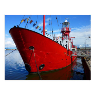 Lightship Cardiff Bay Cardiff Wales Postcards