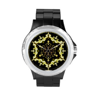 Lightworks Abstract Art 3 Wrist Watches