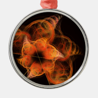 Lightworks Abstract Art Round Christmas Ornament