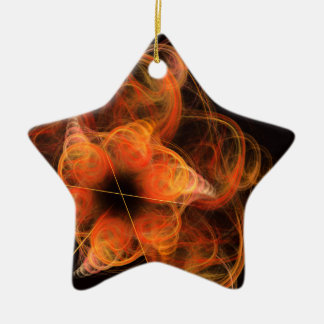 Lightworks Abstract Art Star Ornament