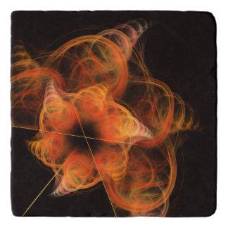 Lightworks Abstract Art Stone Trivet