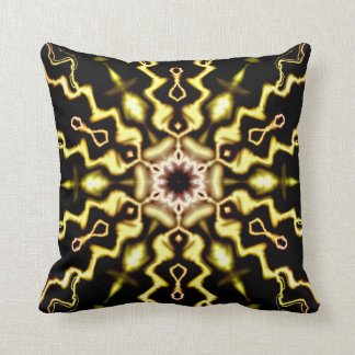 Lightworks Abstract Art Throw Pillow