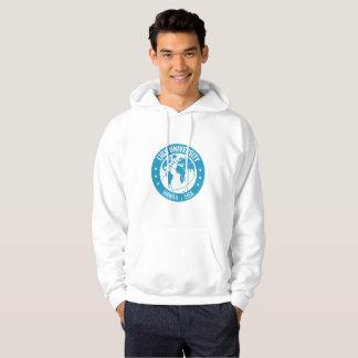 LIGS University Men's Basic Hooded Sweatshirt