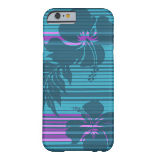 Lihue Hibiscus Stripe Hawaiian Barely There iPhone 6 Case