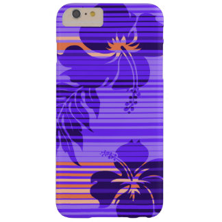 Lihue Hibiscus Stripe Hawaiian Barely There iPhone 6 Plus Case