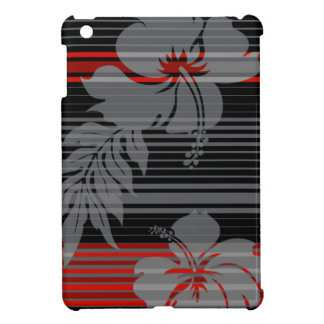 Lihue Hibiscus Stripe Hawaiian iPad Mini Cases
