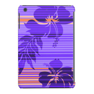 Lihue Hibiscus Stripe Hawaiian iPad Mini Retina Cases