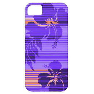 Lihue Hibiscus Stripe Hawaiian iPhone 5Cases iPhone 5 Cover