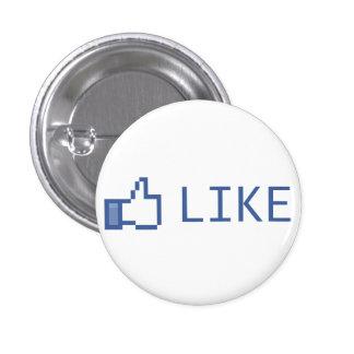 Like 3 Cm Round Badge