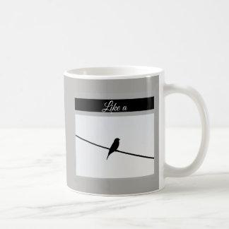 Like a Bird on A Wire - Leonard Cohen Coffee Mug