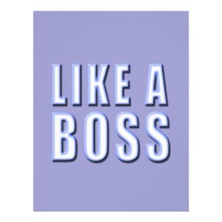 Like a Boss 21.5 Cm X 28 Cm Flyer