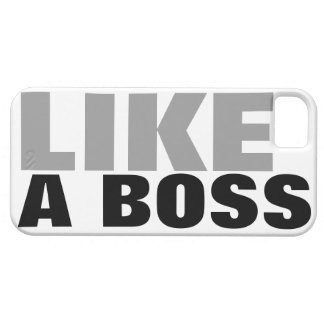 LIKE A BOSS BARELY THERE iPhone 5 CASE