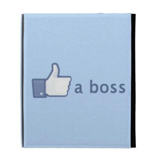 Like A Boss iPad Folio Cover