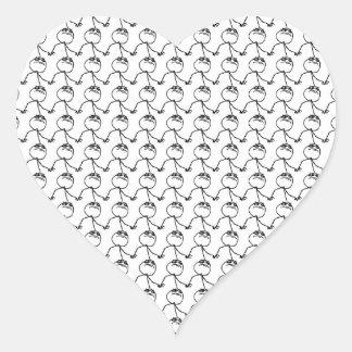 Like a Boss Heart Sticker