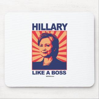 Like a Boss - Hillary Propaganda Mouse Pad