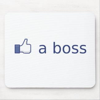 Like a Boss Mouse Mat