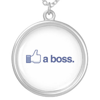 LIKE A BOSS PERSONALIZED NECKLACE