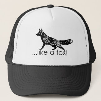 …like a fox! Mesh Hat