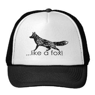 …like a fox! Mesh Hat