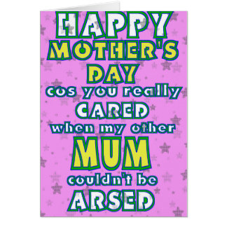 Like a Mum Foster mother's day card