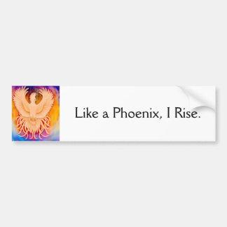 Like a Phoenix Bumper Sticker Car Bumper Sticker