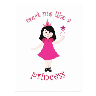 Like A Princess Postcard