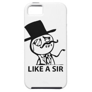 Like a Sir iPhone 5 Covers
