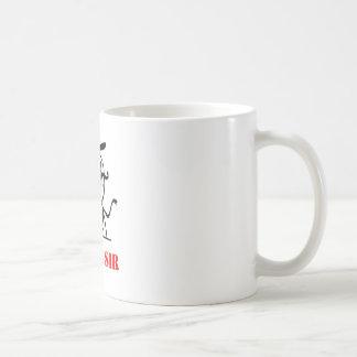 Like a sir - meme basic white mug