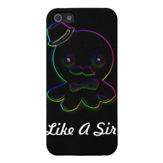 Like A Sir Neon Octopus Cases For iPhone 5