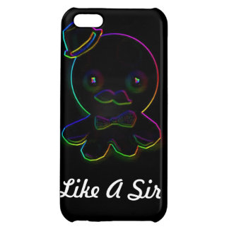 Like A Sir Neon Octopus iPhone 5C Cover