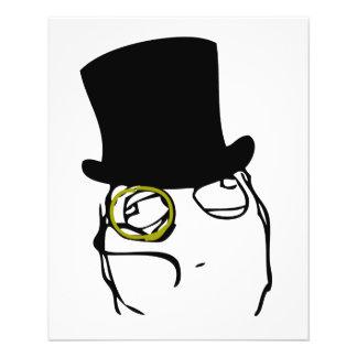 Like a Sir Rage Face Meme Full Color Flyer