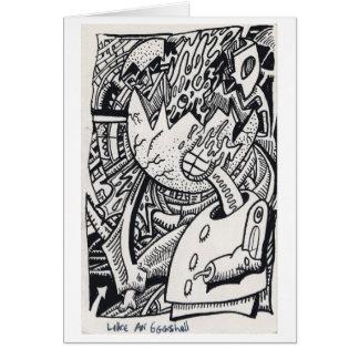 Like an Eggshell, by Brian Benson Card