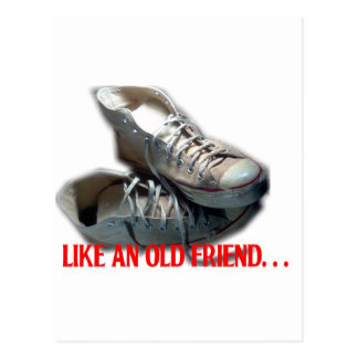 Like an Old Friend Sneaker Postcard