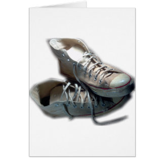 Like an Old Friend Sneakers Greeting Card