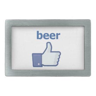 LIKE beer Belt Buckle