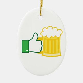 Like Beer Christmas Ornament